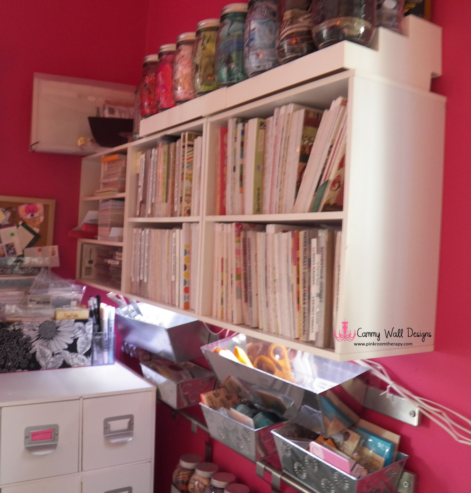 Mommy S Pink Room Pink Room Therapy Designs # Bibliotheque Expedit Ikea Occasion