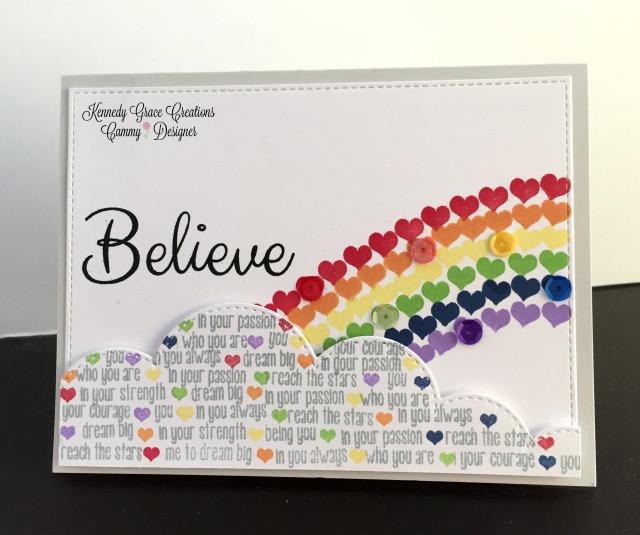 KG Believe Rainbow