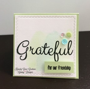 KG Grateful Mint