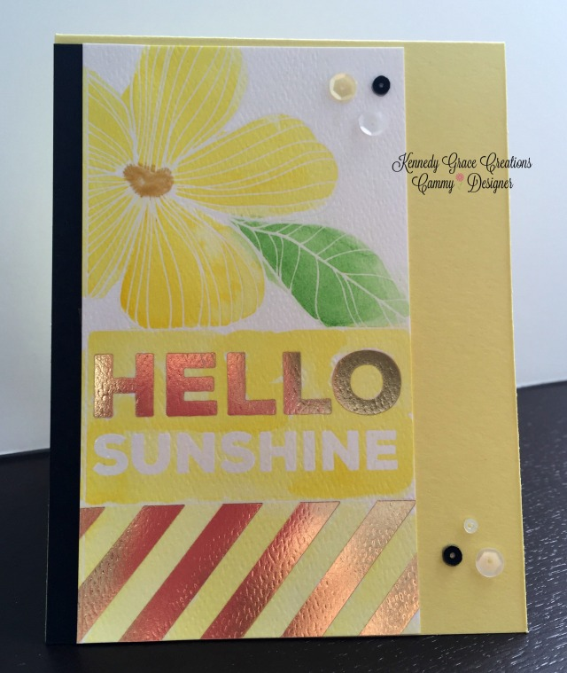 KG Hello Sunshine Honey Bee