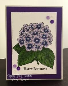 KGC Hydrangea Birthday
