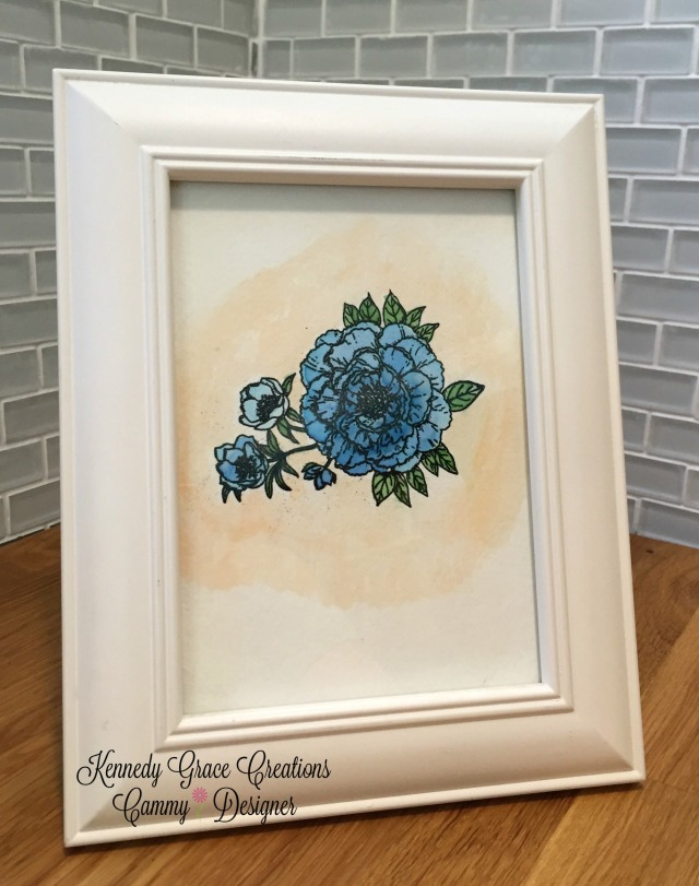 KGC Framed Sweet Rose
