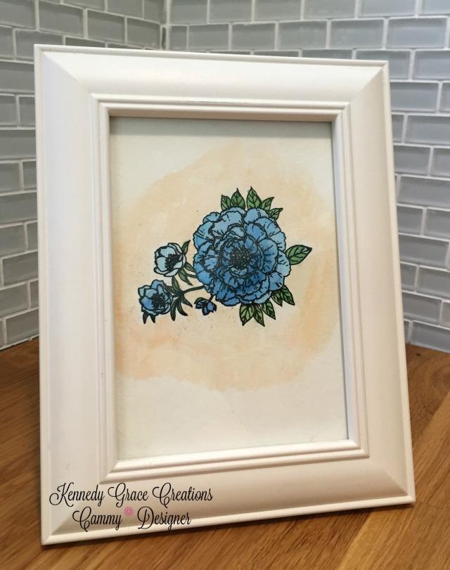KGC Framed Sweet Rose