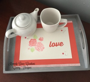 KGC Coral Rose Love tray up top